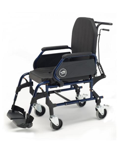 Cadeira de Interior- Rígida com Assento e Encosto Almofadado